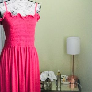 Dresses & Skirts - Salmon pink colored stretchy tube sundress